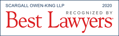 Scargall Owen King LLP Recognized by Best Lawyers (2020)